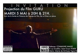 05/05/2015  Projection de GURU  » Before Cannes «